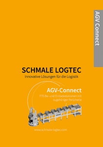 Cover Produktflyer AGV Connect Schmale Logtec