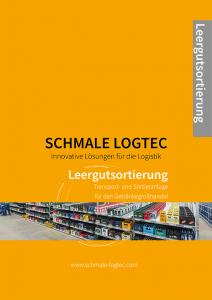 Cover Produktflyer Leergutsortierung Schmale Logtec