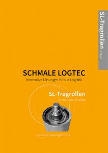 Cover Produktflyer Tragrollen schwer Schmale Logtec