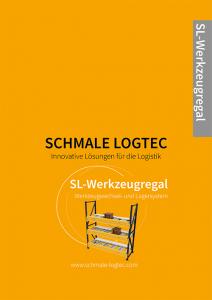 Cover Produktflyer Werkzeugregal Schmale Logtec