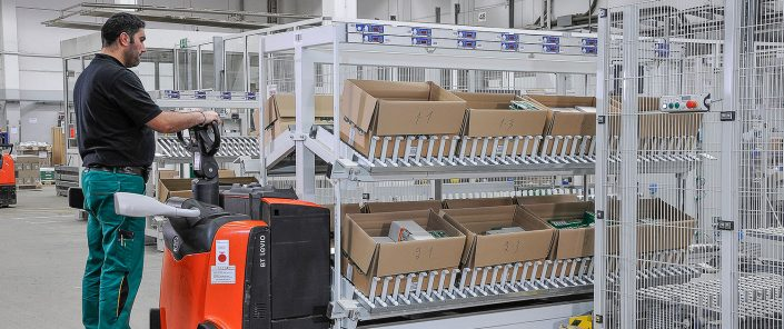 multi-order-picking intralogistik schmale logtec warburg