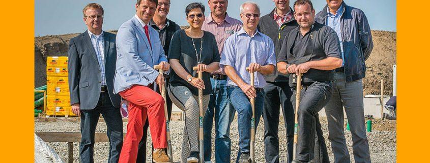 spatenstich warburg 02-juni-2017 schmale logtec team und partner