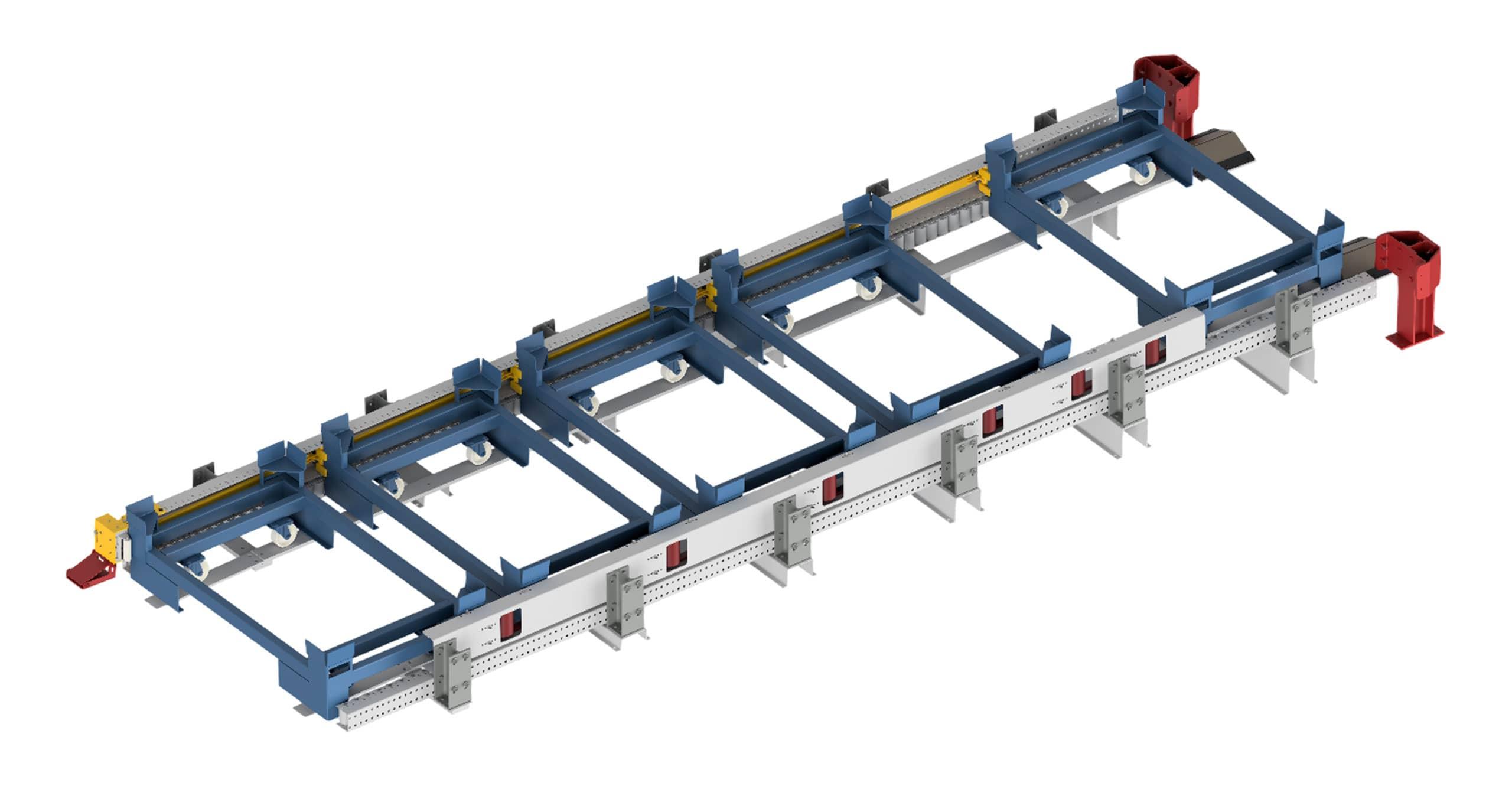 Vorlaufbahn AGV-Connect | SCHMALE LOGTEC